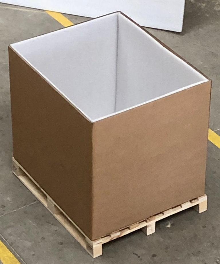 Cajas de cartón protegidas